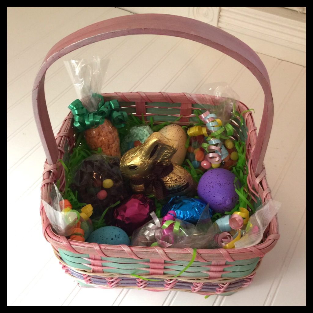 Ostara easter basket ideas for vegans part 3 vegan kitchen the homemade treats shown in these baskets are negle