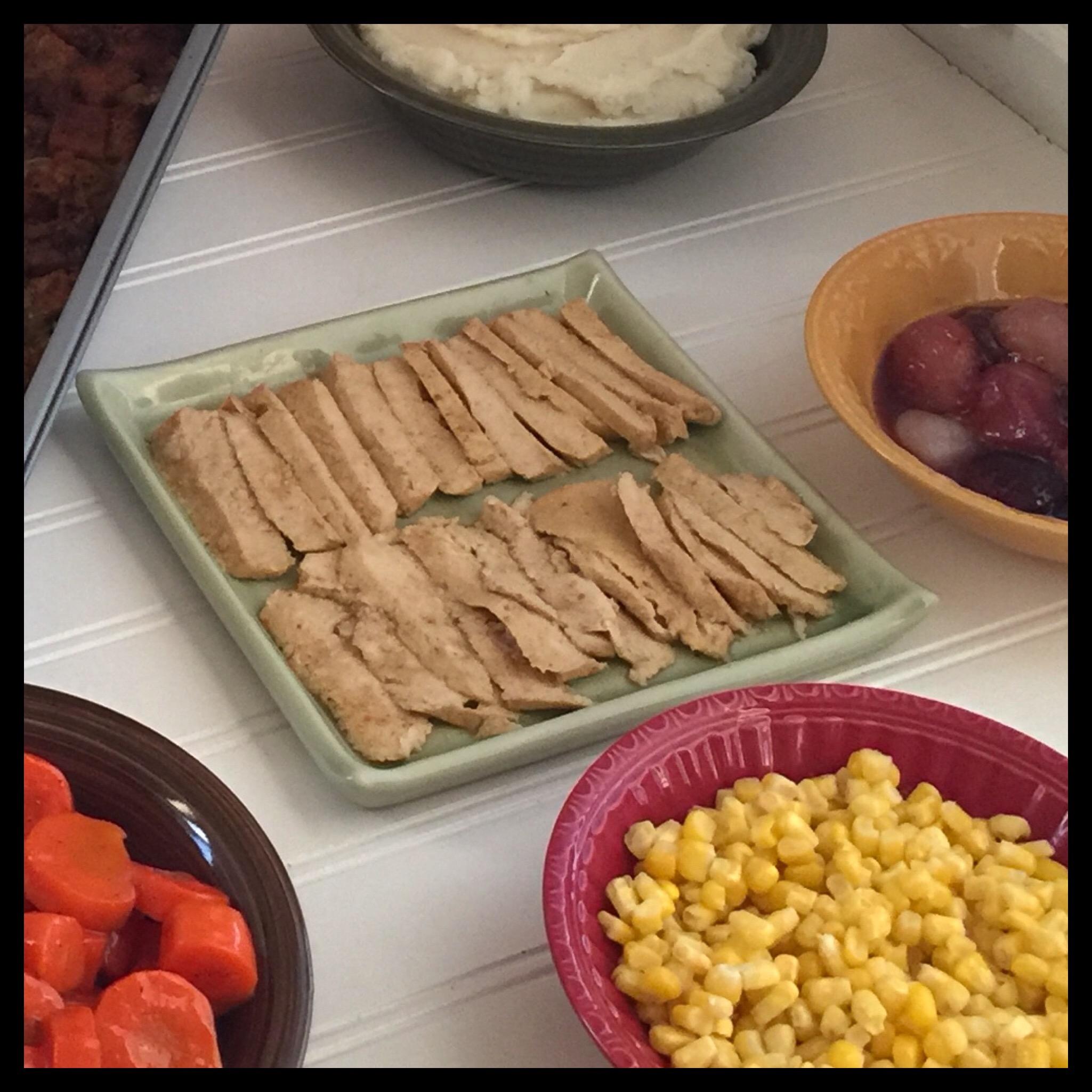 "Easy Gluten Free Thanksgiving Recipes: Quick & Easy Vegan (and Gluten Free) ""Turkey"""